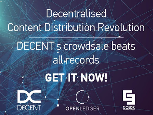 DECENT ICO Raises $2.5M in First Two Days