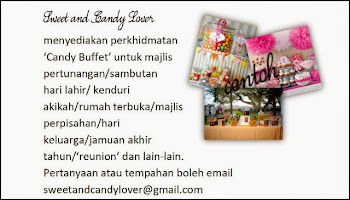 Iklan | Candy Buffet Services