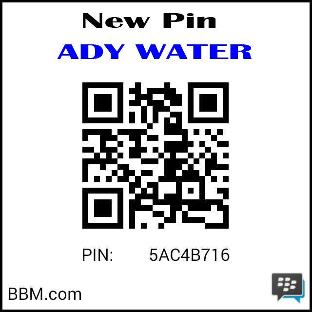 New Pin Ady Water