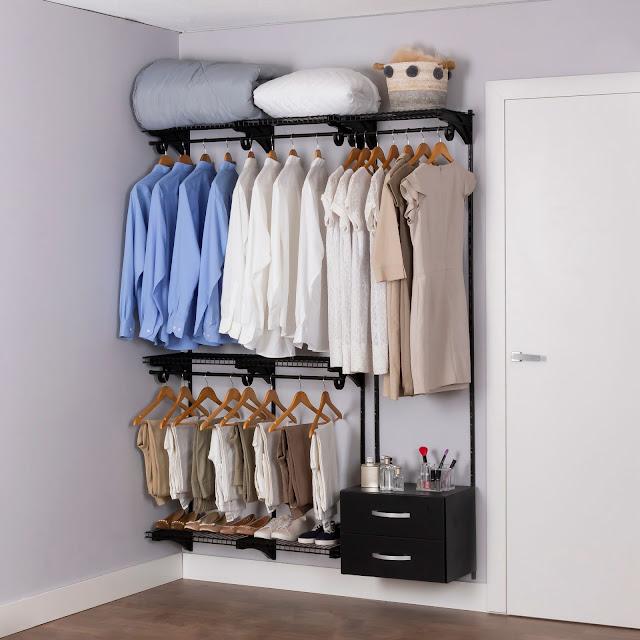 Armário aramado kit 8 - Closet ou quarto