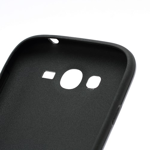 3D Cube TPU Case for Samsung Galaxy Grand I9080 Grand Duos I9082 - Black