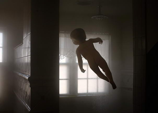 Flying Baby By Rachel Hulin, Fantastic Baby Photos