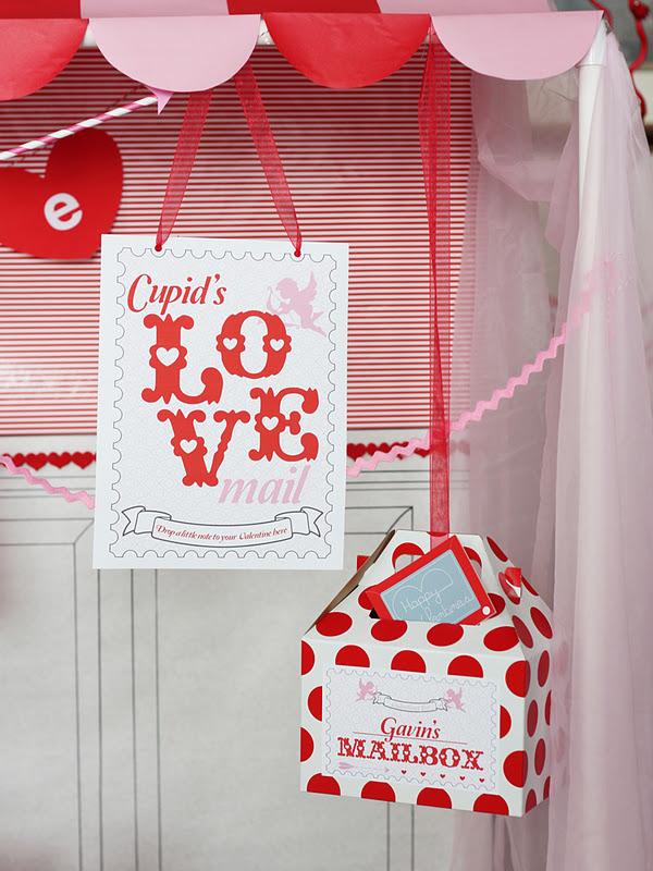 office valentines day ideas party ideas karas party ideas cupids post office valentines day