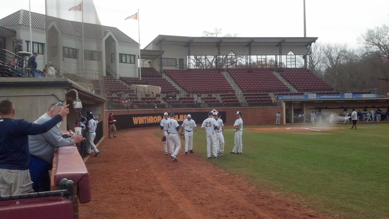 Winthrop Baseball Locker Room
