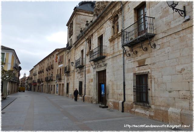 Calle Mayor, Burgo de Osma