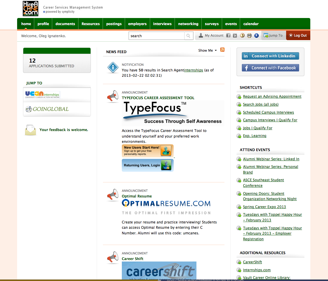 University of Miami Toppel Peers: Get Familiar With HireACane