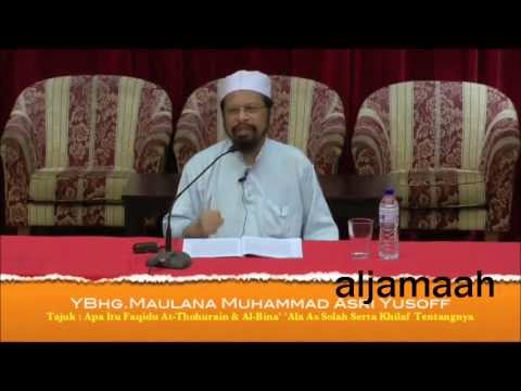 Beza pendapat orang awam dengan Imam-imam Mazhab - Maulana Asri Yusoff