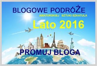 Wakacyjne podróże - 2016