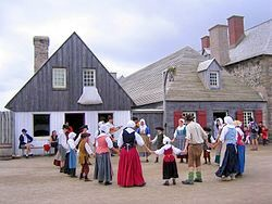 Town Square Louisbourg, NS