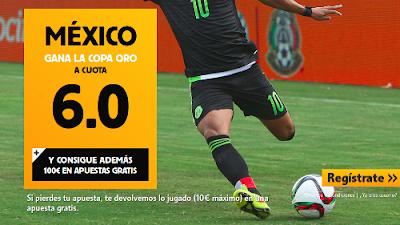 betfair Mexico o EEUU super cuota 6 Copa Oro 8 julio