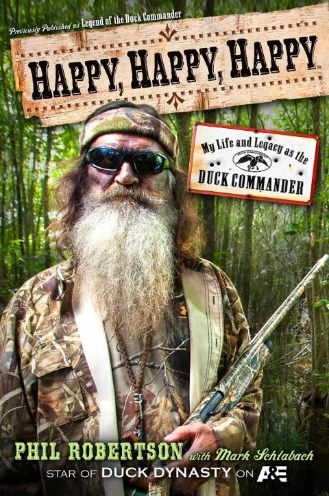 cover of Happy, Happy, Happy by Phil Robertson