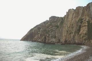 Playa del Silencio, vista de la zona oriental