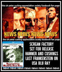 NEWS: SCREAM FACTORY RELEASES ANOTHER CLASSIC HAMMER FRANKENSTEIN BLU RAY FOR USA RELEASE