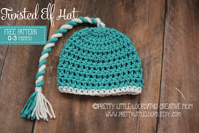 free crochet elf hat pattern