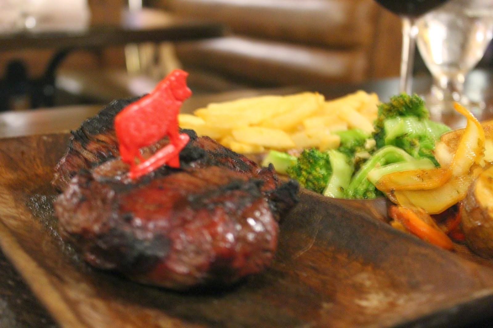 El Gaucho steak at El Gaucho, Aruba