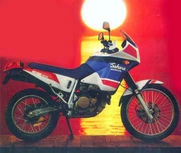 xl 3 - HONDA NX350 SAHARA
