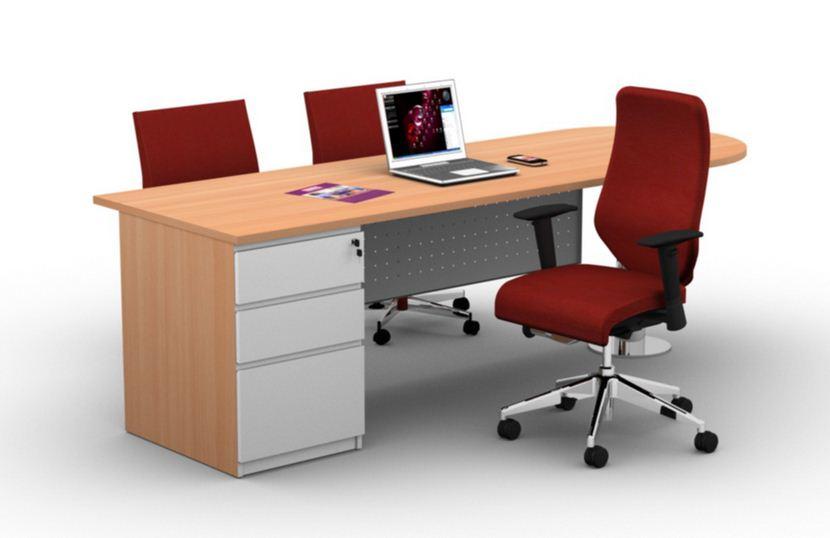 Model Meja Kantor Minimalis Dan Modern Terbaru  Desain Rumah