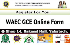 GCE Online Registration