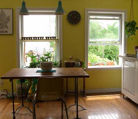 Decora el hogar cocinas color amarillo - Colores paredes cocina ...