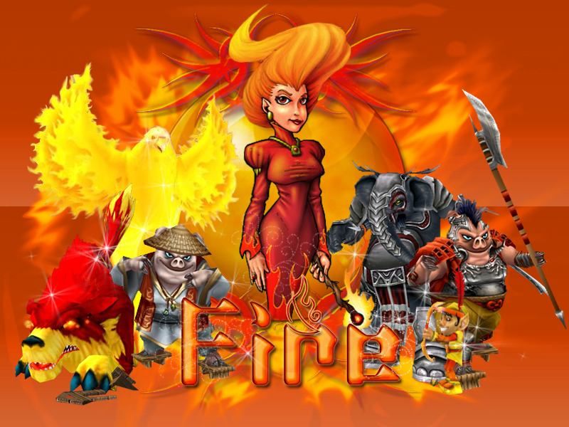 gallery for wizard101 wallpaper fire
