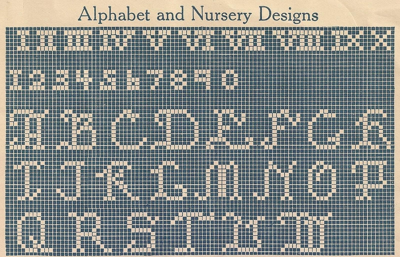 Sentimental Baby: Children\'s Motifs for Cross Stitch or Filet Crochet