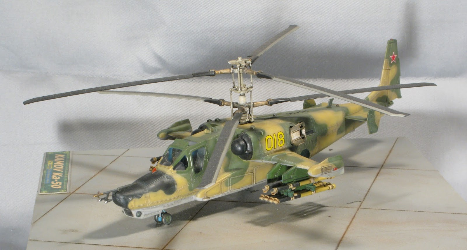 Elicottero Kamov : Dario funghini quot il modellismo statico per tutti i gusti