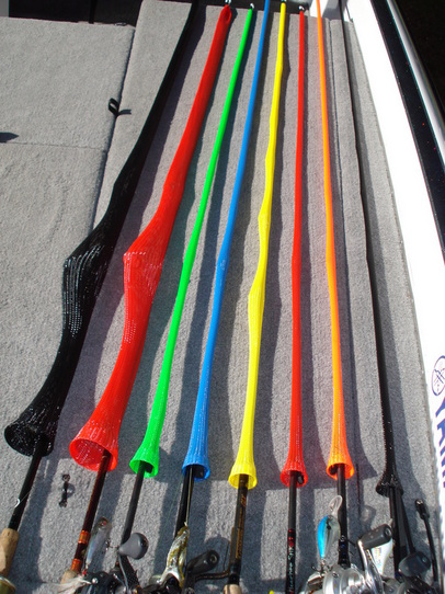 Bbhunter sell rod sleeves for Fishing pole sleeves