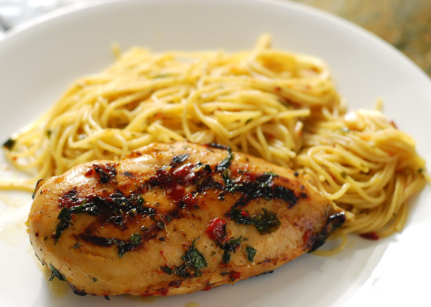 Grilled chicken a la lang for Good side dishes for grilled chicken