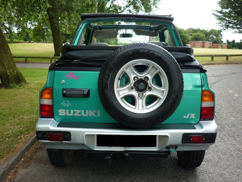 Suzuki vitara model kanvas ini mengadopsi mesin seperti Suzuki Escudo  title=