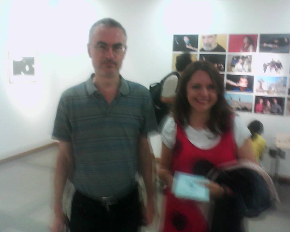 nani  mosquera  in greece  cervantes  institute  2013