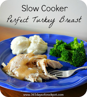 Crock Pot Recipe for Perfectly Seasoned Turkey Breast #crockpotrecipe #slowcooker