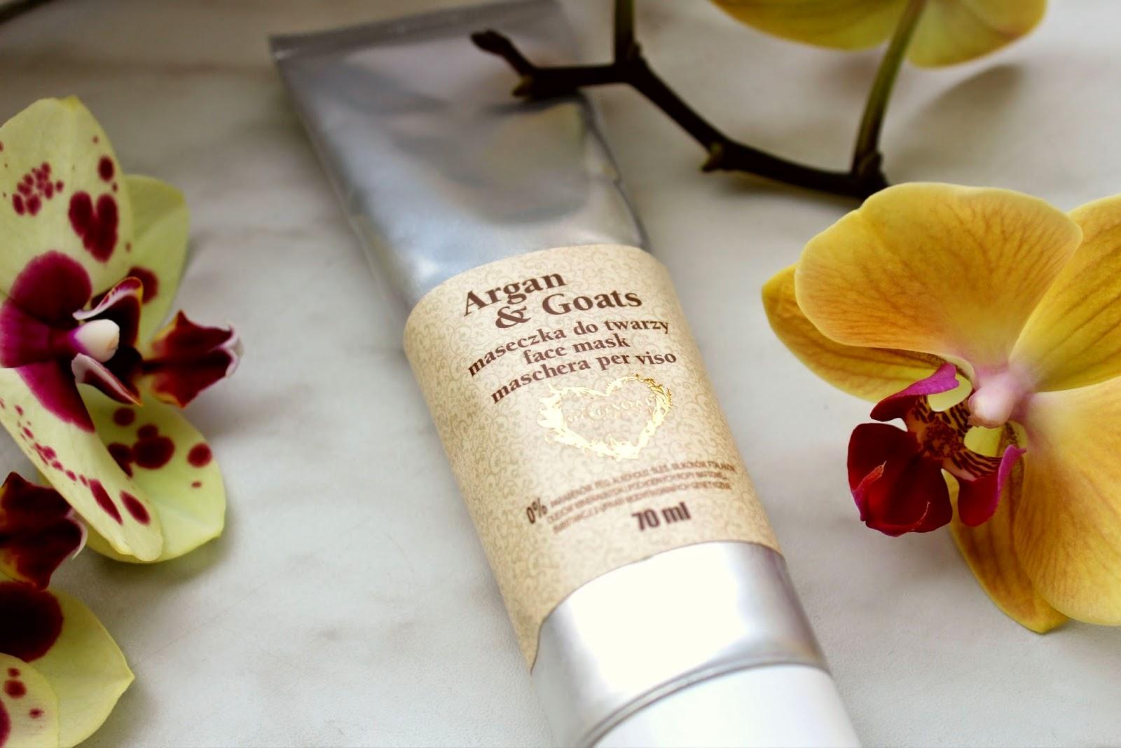 maseczka do twarzy Argan & Goats – The Secret Soap Store