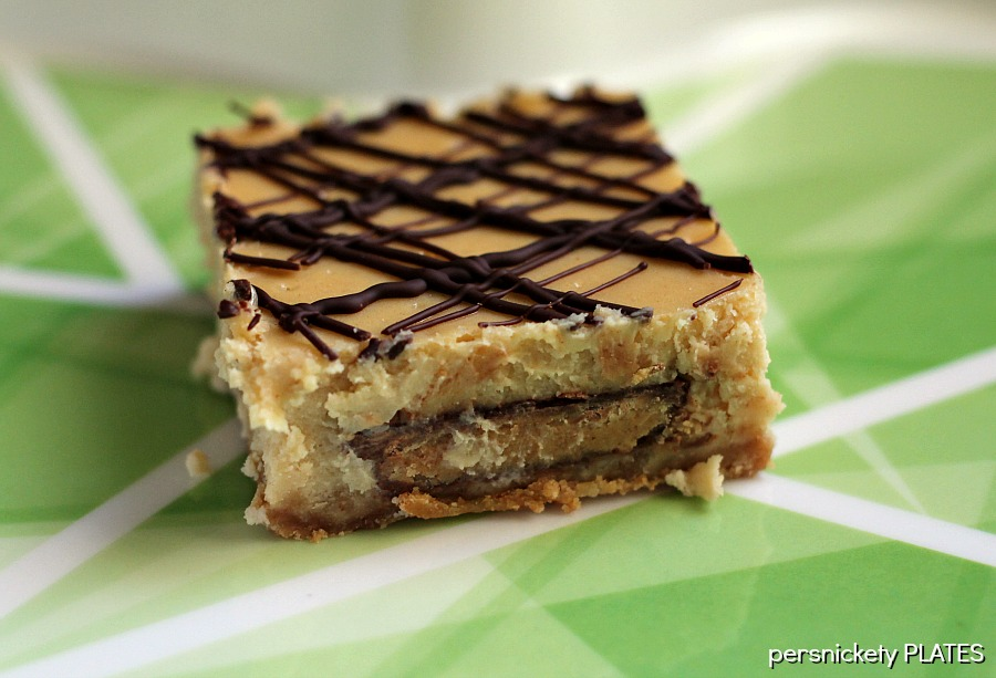Reese's Peanut Butter Cup Cheesecake Bars