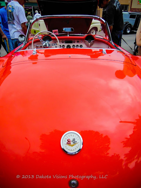 Top 5 Car Show Photography Tips: Little Red Corvette