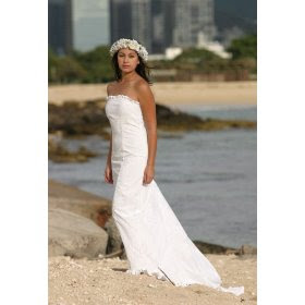 Wedding themes wedding style hawaiian wedding dresses for Wedding dresses for tropical wedding