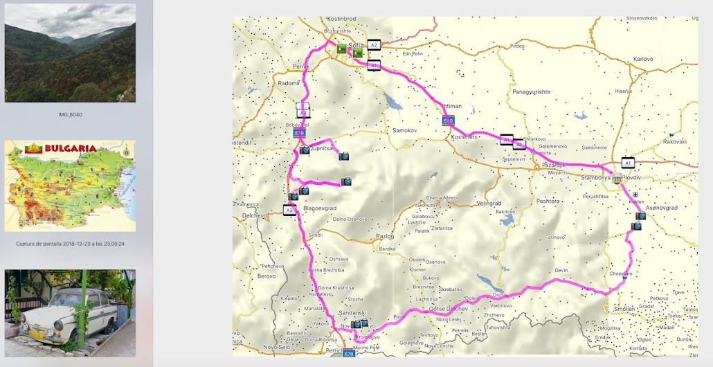 750 Km rodeando las Montañas Rhodope en Rumania.