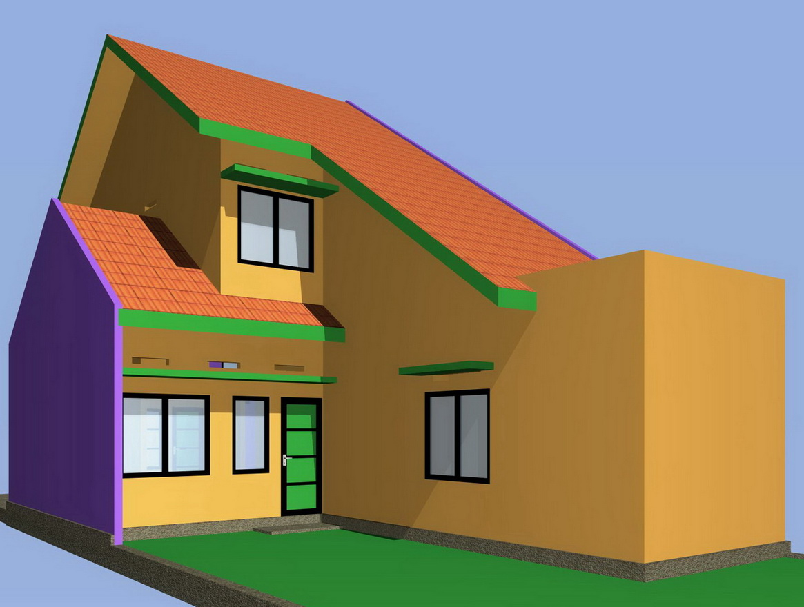 Inspirasi untuk Model Rumah Minimalis Type 100 1 Lantai 2015 yang cantik