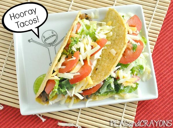 Hooray Tachos! Pumpkin Black Bean Veggie Tacos