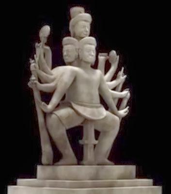 statue-shiva-dansant-koh-ker