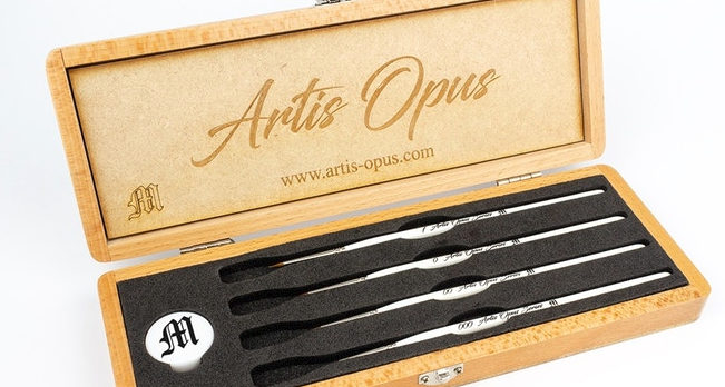 Artis Opus Kickstarter Series M Brushes