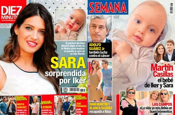 Martín Casillas Carbonero en portada de revistas