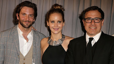 Jennifer Lawrence, Bradley Cooper y David O. Russell. El lado bueno de las cosas triunfa en los Independent Spirit Awards. +CINE. Making Of