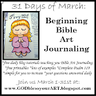 BEGINNING BIBLE ART JOURNALING
