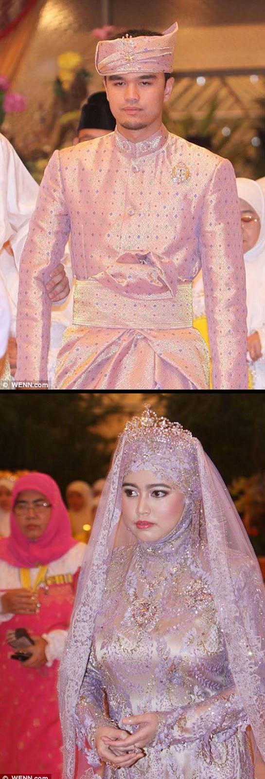 Puteri Hajah Hafizah Sururul Bolkiah dinikahkan dengan Pengiran Haji Muhammad Ruzaini