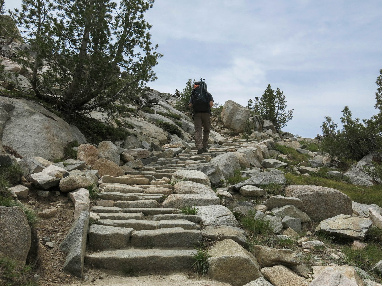 Stone Staircase in Sabrina Basin