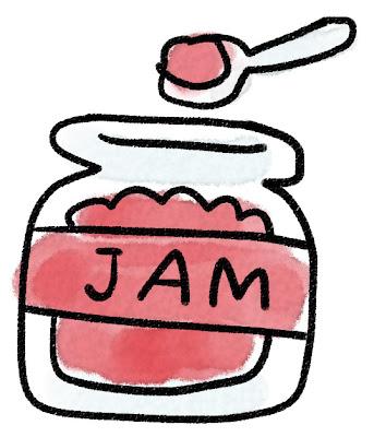 ジャムのイラスト