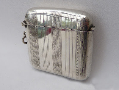 Antique Sterling Silver Vesta Case - Birmingham 1912
