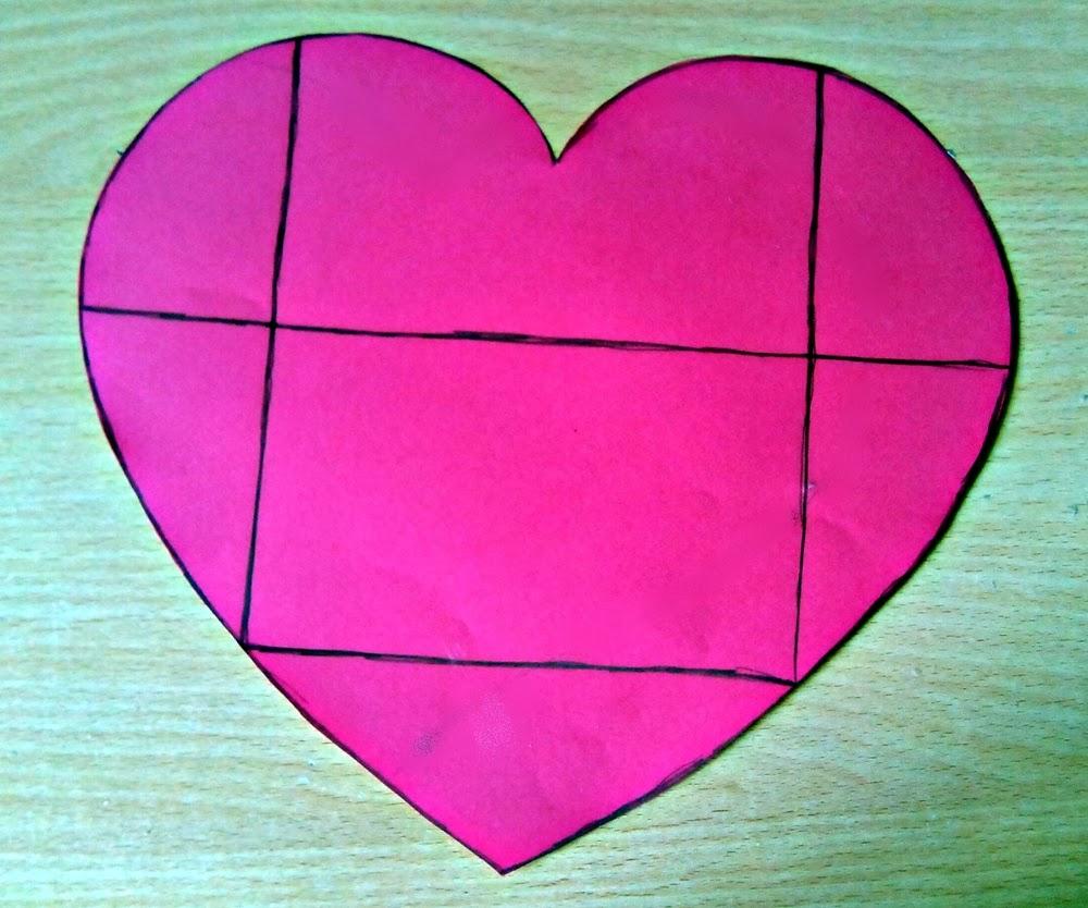Urgunes gune como hacer una carta sobre con forma de coraz n - Como hacer un corazon con fotos ...
