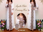 1104 Aquilla White Kaftan SOLD OUT