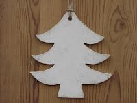 décorations-de-Noël-sapin-blanc-bois-découpé